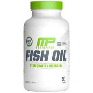 FISH OIL - MUSCLE PHARM - FISH OIL - 90 SOFTGELS - Giúp sáng mắt bổ não đẹp da ngăn ngừa cholesterol xấu thumbnail