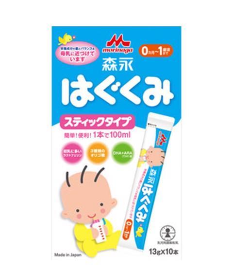 Sữa Morinaga dạng thanh dành cho bé từ 0-12 tháng...