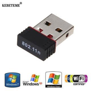 Kebeteme Không Dây Mạng Lan Thẻ USB Wifi Thu 802.11 N G B 150Mbps MT7601 RT Cho điện Thoại Máy Tính Laptop Win XP 7 (Không Kèm CD) Dũng YenLuong thumbnail
