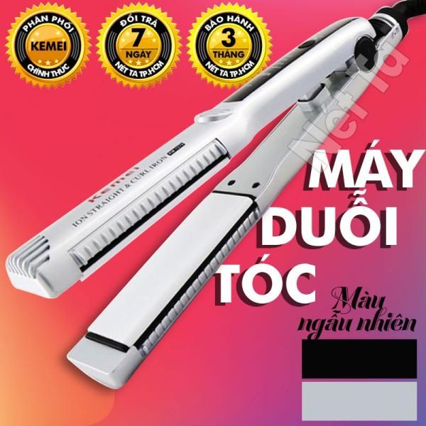Máy duỗi tóc kemei KM 1279 có thể dùng để uốn cúp  uốn sóng  máy là tóc nhiệt độ cố đình Nét Ta may duoi toc may lam toc