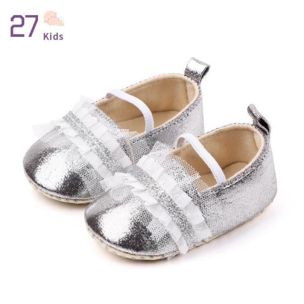Giá bán 27 Trẻ Em Em Bé Bé Gái Giày Công Chúa Bóng Không-Trượt Đế Mềm PU Giày Da Cho 0-18 Tháng Cô Gái