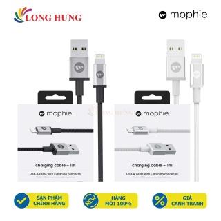 Cáp Lightning Mophie 1m 409903214 409903213 - Hàng chính hãng - Cổng Lightning tiện dụng Chiều dài 1m Dòng điện ổn định Truyền tải điện tốt thumbnail