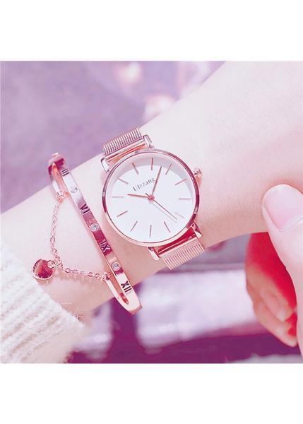 Đồng hồ nữ thời trang TẶNG lắc tay bán chạy