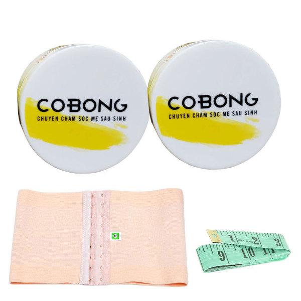 Bộ 2 Kem tan mỡ bụng Cô Bông x10 giúp giảm mỡ bụng có QUÀ TẶNG