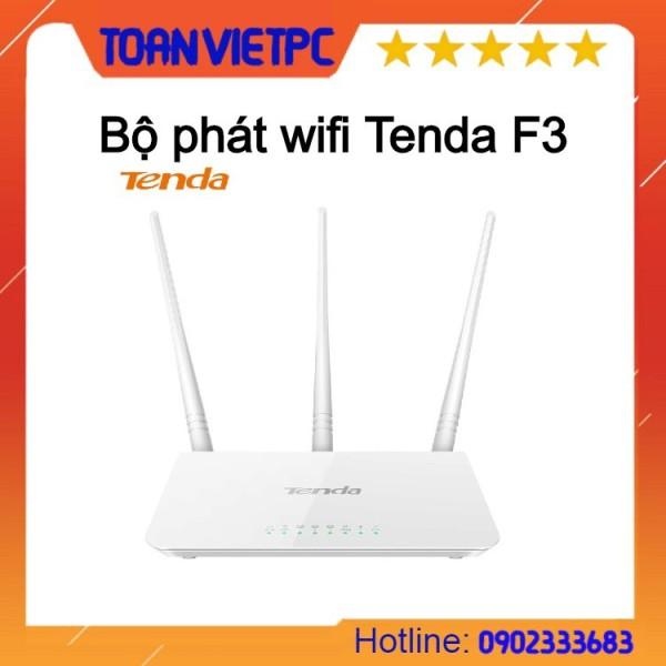 Bảng giá Thiết bị phát sóng WIFI 3 anten 300M TENDA F3 Phong Vũ