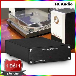Bộ khuếch đại âm thanh FX Audio Box01 - Ampli nghe nhạc FX-Audio Phono BOX01 - Preamp Phono Vinyl Player thumbnail