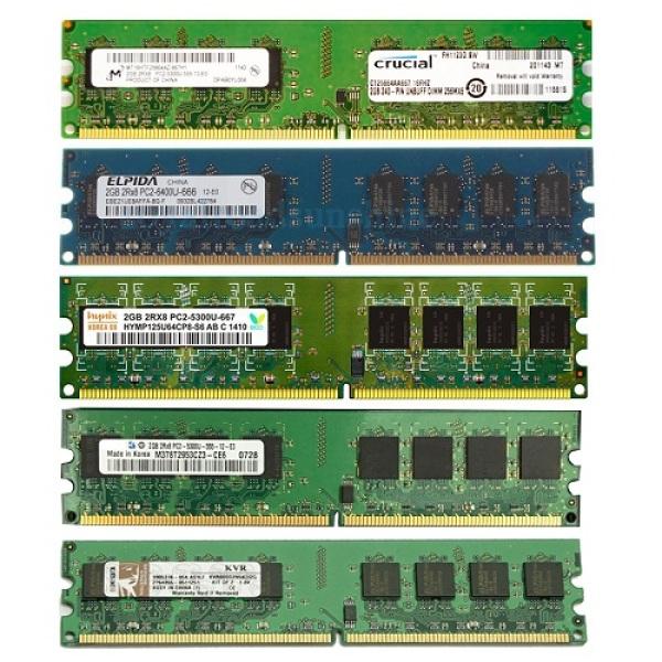 Bảng giá Ram máy tính để bàn 2GB 1GB DDR2 bus 667/800 (nhiều hãng) Samsung hynix kingston…(Bảo hành 2 Năm) Phong Vũ