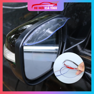 Bộ 2 chắn mưa gương chiếu hậu cho ô tô Type R thể thao - Đen, sản phẩm tốt đạt chất lượng cao, cam kết sản phẩm nhận được như hình thumbnail