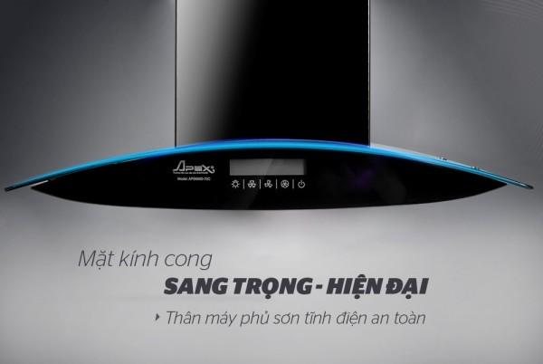 Bảng giá Máy hút mùi kính cong Apex APB6680-70C* 1 Điện máy Pico