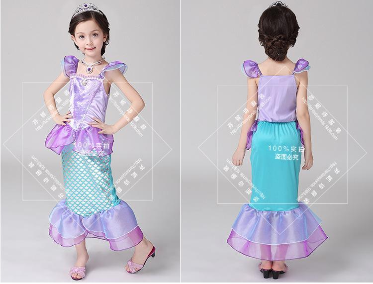 Giá bán Đầm bé gái nàng tiên cá D595