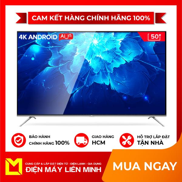 Bảng giá Smart TV TCL Android 9.0 50 inch 4K UHD wifi - 50T6 - BOX HDR Micro Dimming, Dolby, Chromecast, T-cast, AI+IN - Tivi giá rẻ chất lượng. - Bảo hành 3 năm.