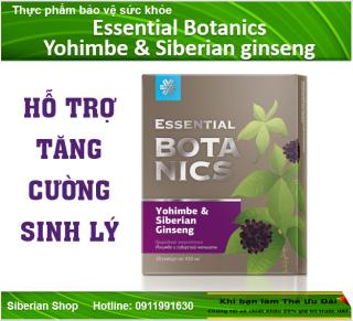 Hỗ trợ tăng cường sinh lý Essential Botanics Yohimbe & Siberian ginseng thumbnail