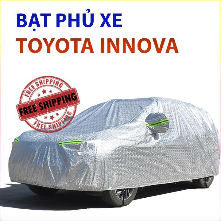 Bạt Phủ Xe Toyota Innova, Bạt Phủ Xe ô Tô Toyota Innova, Bạt Phủ Xe Hơi, Bat Trum Xe Oto, Bạt Trùm ô Tô Chống Nắng Xe Toyota, Bạt Phủ Xe ô Tô 7 Chỗ Chống Mưa, Bạt Chống Nắng Xe ô Tô Innova Không Thể Rẻ Hơn tại Lazada