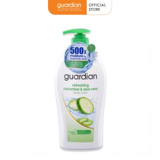 Sữa tắm Guardian dưa leo và nha đam tươi mát 1000ml thumbnail