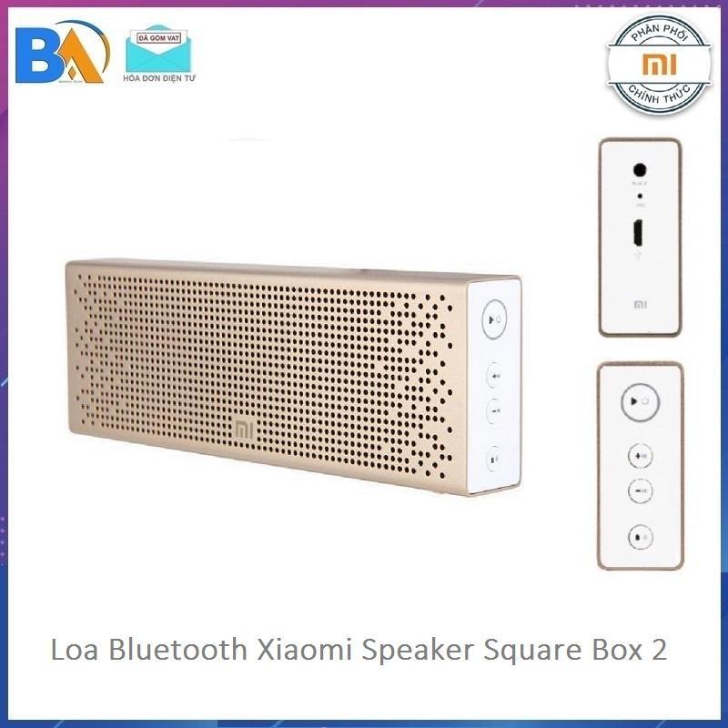 Loa bluetooth Xiaomi Speaker Square Box 2 Bản Quốc Tế - Phân Phối Chính Hãng - Bảo Hành 12 Tháng