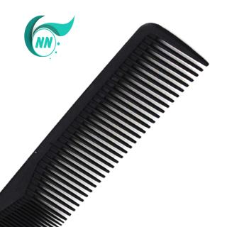 Lược Thẳng 2 đầu thưa 3 mm , dầy 1 mm , dài 17,4 cm x 2,5 cm Lược thường giá thành thấp ( đen ) phụ kiện cho tóc 4