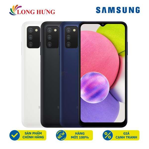 [VOUCHER 7% tối đa 800k] Điện thoại Samsung Galaxy A03s (4GB/64GB) - Hàng Chính Hãng - Thiết kế thời trang, viên pin dung lượng lớn 5000mAH, bộ 3 Camera cực đỉnh