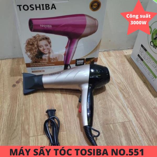 Máy Sấy Tóc Toshia 551 Công Suất 3000W - Máy sấy tóc tạo kiểu cao cấp Toshia No.551 - Máy sấy tóc TSB 2 chiều nóng lạnh 3000w sử dụng an toàn, bảo vệ mái tóc không bị tổn thương vì nhiệt - Bảo Hành 1 đổi 1 bởi Tổng Kho 1688