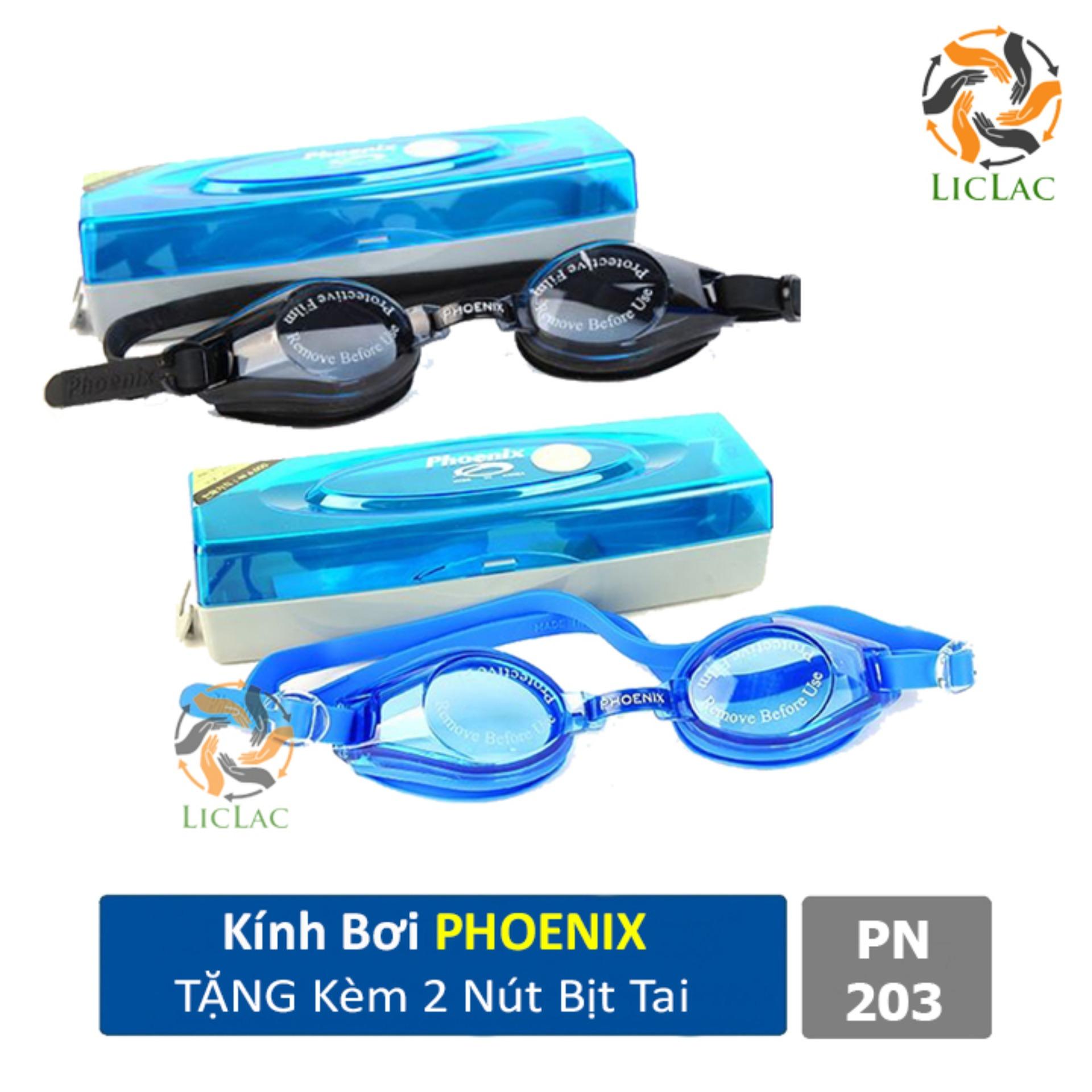 Kính Bơi Hàn Quốc Phoenix ( LOẠI XỊN ) + TẶNG Hộp Đựng Tiện Dụng - LICLAC Giá Cực Cool