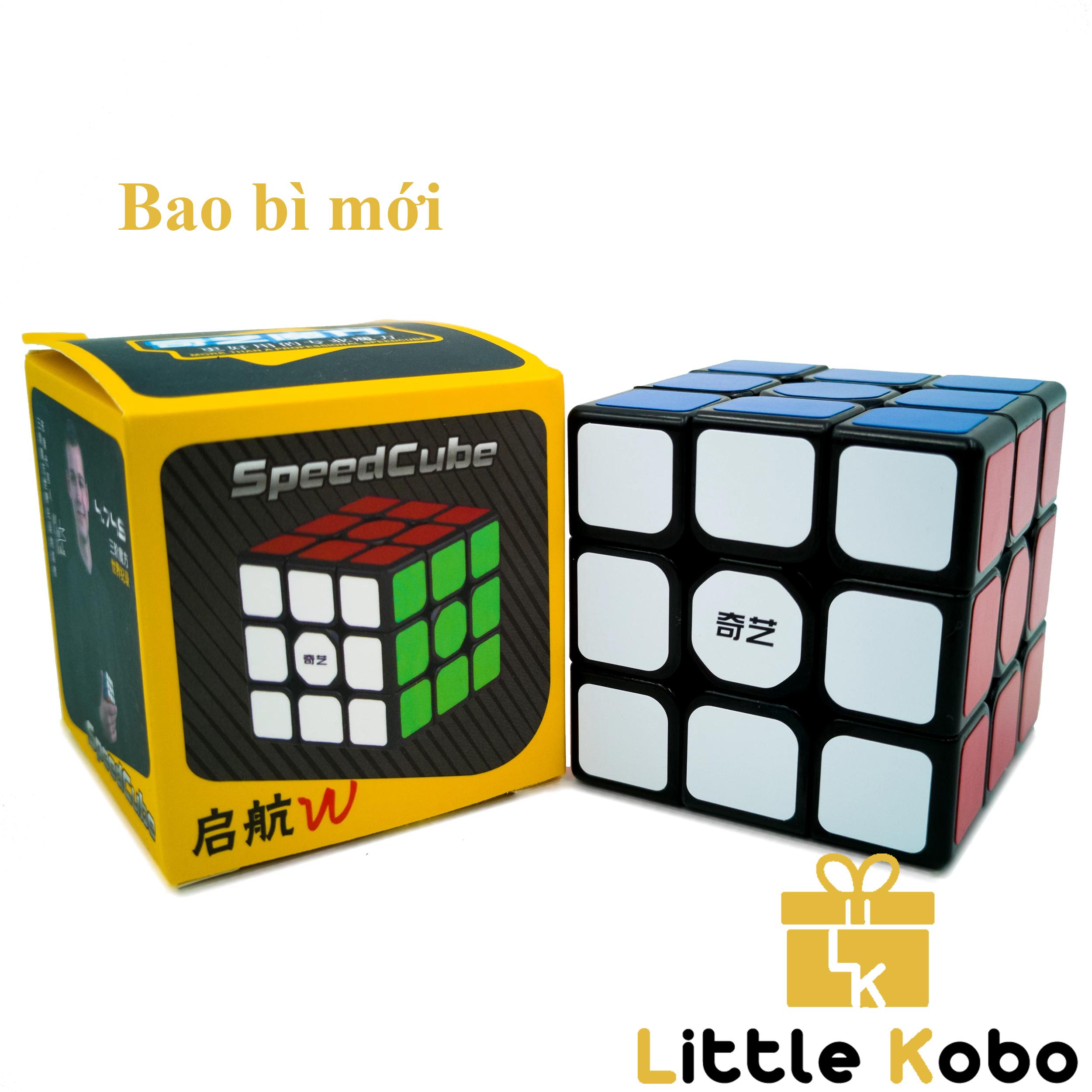 [HCM]Rubik 3x3 Qiyi Sail W Rubik 3 Tầng Khối Lập Phương Rubik