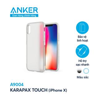 Ốp lưng KARAPAX Touch cho iPhone X (by ANKER) - A9004 thumbnail