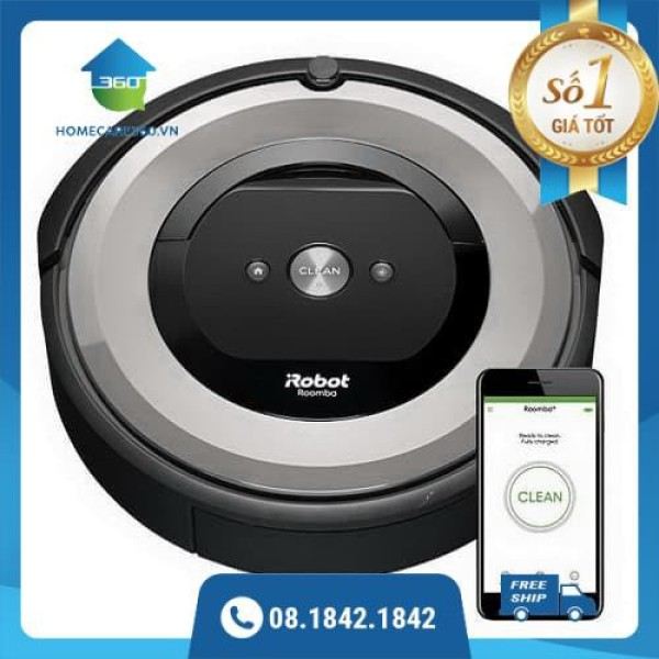 Robot hút bụi iRobot Roomba E5 Mới 100%