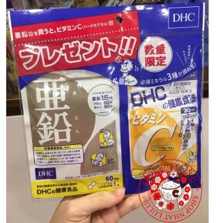 Sét combo Kẽm và vitamin C của D .H .C nhật giá mua sale thumbnail