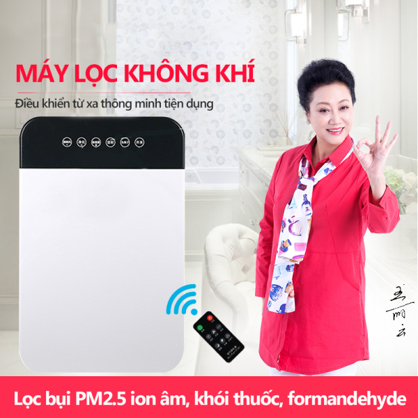 Bảng giá Máy lọc không khí ion âm thông minh lọc khói bụi và vi khuẩn, bụi mịn PM2.5, khói thuốc Điện máy Pico
