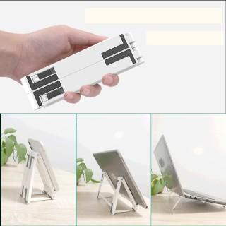 Kệ laptop máy tính bảng điện thoại 3 trong 1 có thể gấp lại, cực kỳ nhỏ và gọn nhẹ thumbnail