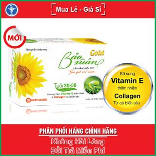 Viên Uống Đẹp Da Cân Bằng Nội Tiết Bảo Xuân Gold Hộp 30 Viên - Yespharmacy thumbnail