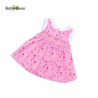 Đầm Xòe Smock Cổ Sen bé gái BabyBean thumbnail