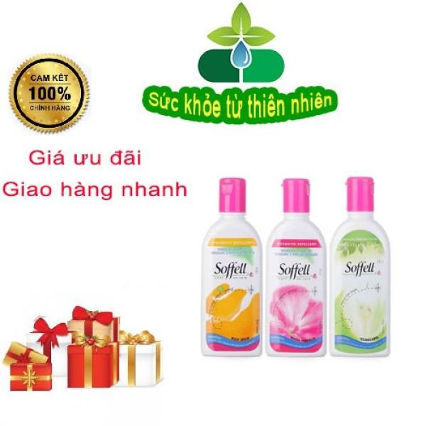 Chống Muỗi Soffell - Bảo Vệ Muỗi Cho Cả Gia Đình (Kem Và Xịt) - Xịt Hương Cam 30ml