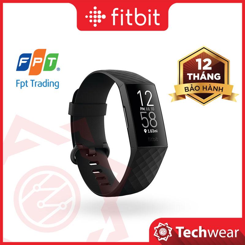 Đồng Hồ Fitbit Charge 4 Theo Dõi Sức Khỏe Chính Hãng FPT Phân Phối - Bảo Hành 12 Tháng