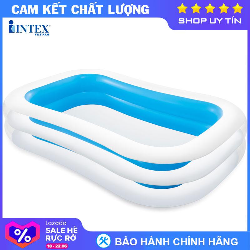 Bể Bơi Phao Gia đình INTEX 56483 - Hồ Bơi Cho Bé Mini, Bể Bơi Phao Trẻ Em Với Giá Sốc