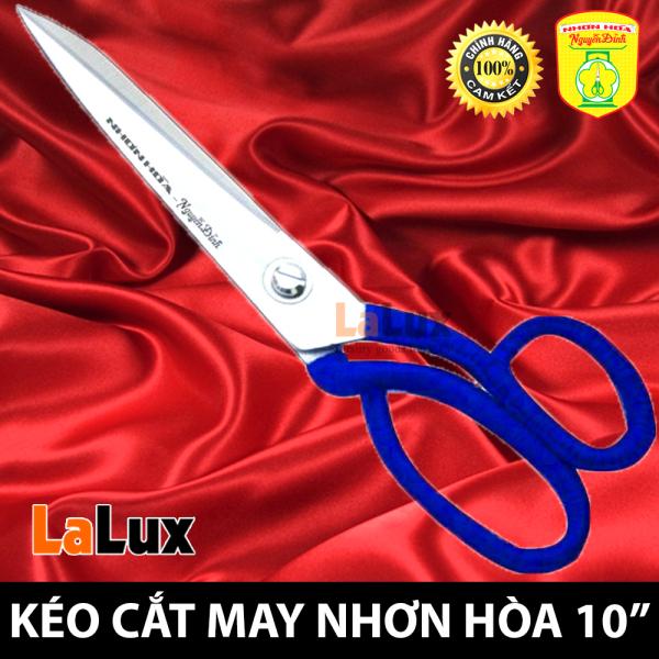 Kéo Cắt Vải Thợ May - Kéo Cắt May Chuyên Nghiệp Nhơn Hòa Nguyễn Định 10 INCH 10TR