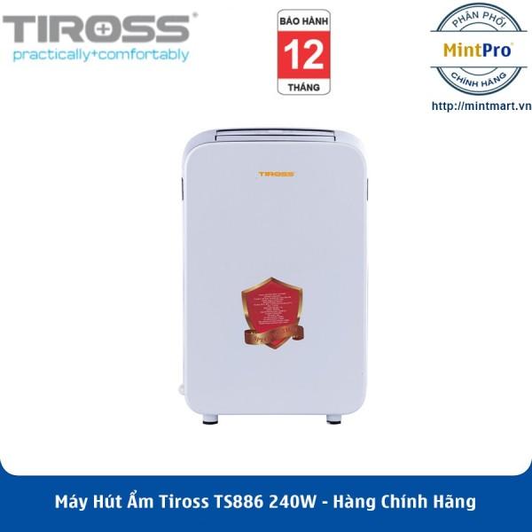 Máy Hút Ẩm Tiross TS886 240W (10 lít/1 ngày) - Hàng Chính Hãng