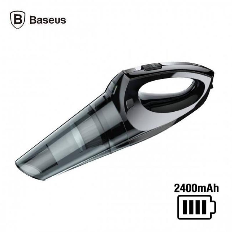 Máy hút bụi cầm tay không dây đa năng thông minh tích điện pin 2400 mAh công xuất lhút 4000 Pa thương hiêu Baseus H-505 dùng trên xe hơi và gia đình