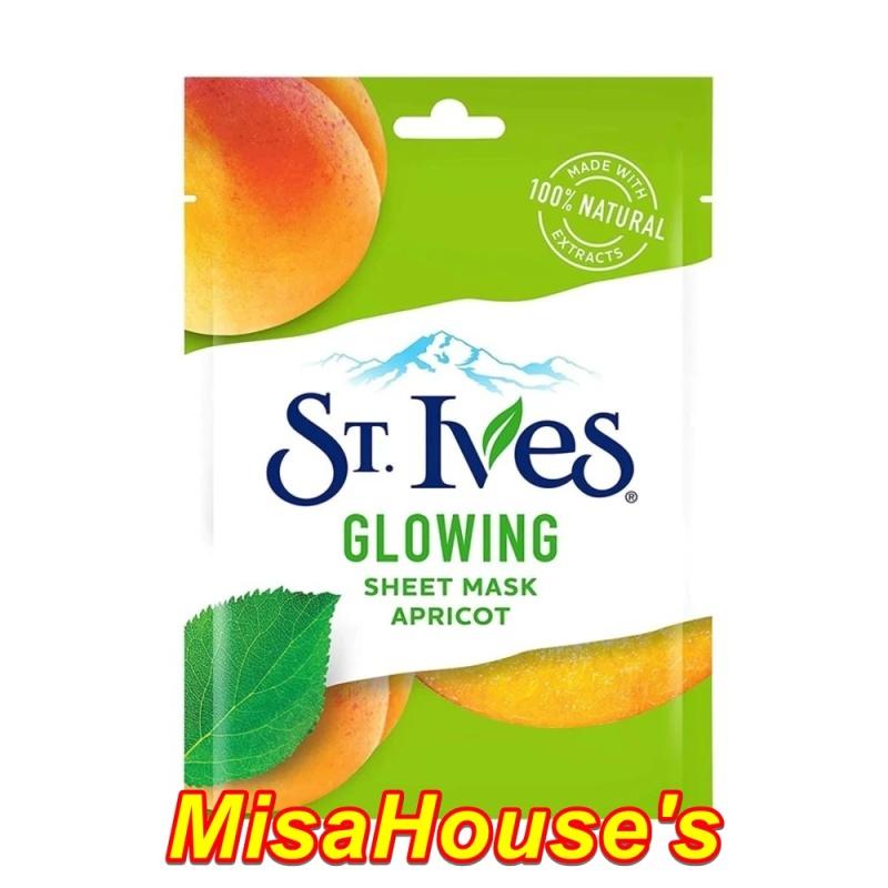 Mặt Nạ Giấy St.Ives Sheet Mask 23ml - Apricot
