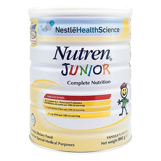 Voucher Ưu Đãi Sản Phẩm Dinh Dưỡng Nestle Nutren Junior (800g)