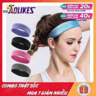 Băng đô nam nữ thể thao Aolikes AL2103 - Headband thể thao ngăn và thấm hút mồ hôi chính hãng thumbnail