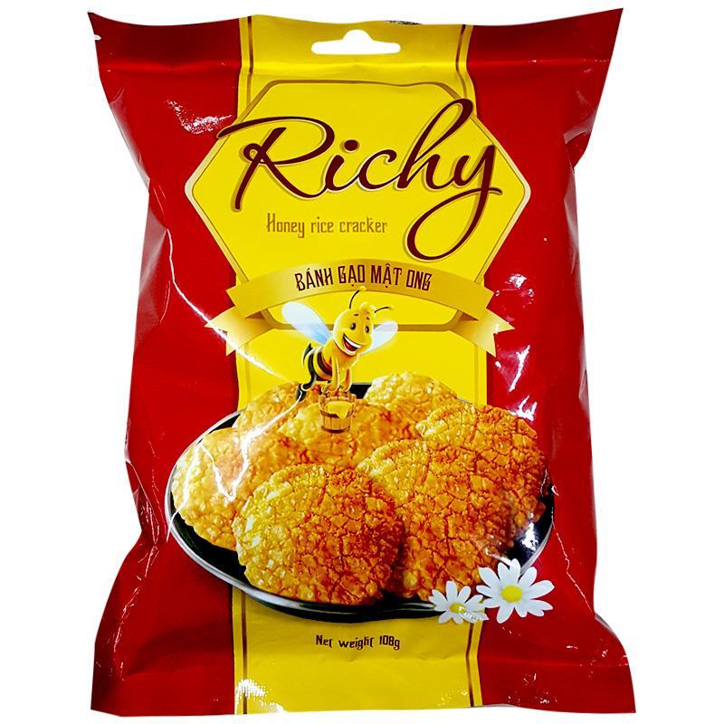 Bánh gạo mật ong Richy gói 108g