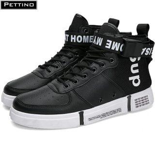 Giày cao cổ nam, giay nam thể thao, sneaker nam, giày nam buộc dây thời trang thoáng khí PETTINO - LLTC01 thumbnail