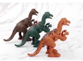 Đồ chơi khủng long nhảy bằng nhựa có cót vặn thumbnail