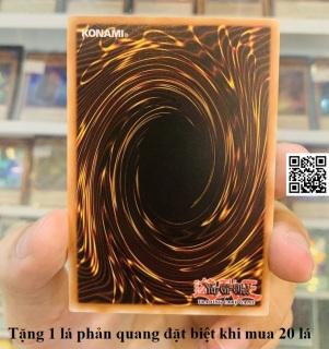 Bài vua trò chơi Yugioh 1 lá ngẫu nhiên có tem tiếng Anh (CAM KẾT KHÔNG TRÙNG) tặng 1 lá phản quang đặt biệt khi mua 20 lá [ 1220 B ] thumbnail