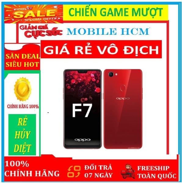 điện thoại Oppo F7 2sim 64G ram 4G mới Fullbox - Máy Chính Hãng - Chơi Game nặng mượt