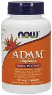 Thực Phẩm Bảo Vệ Sức Khỏe NOW - ADAMTM Men s Multiple Vitamin - Bổ Sung Vitamin tổng hợp & Khoáng Chất Thiết Yếu Do Thiếu Hụt Trong Bữa Hàng Ngày, Dành Cho Nam Giới Chai 90 Viên thumbnail