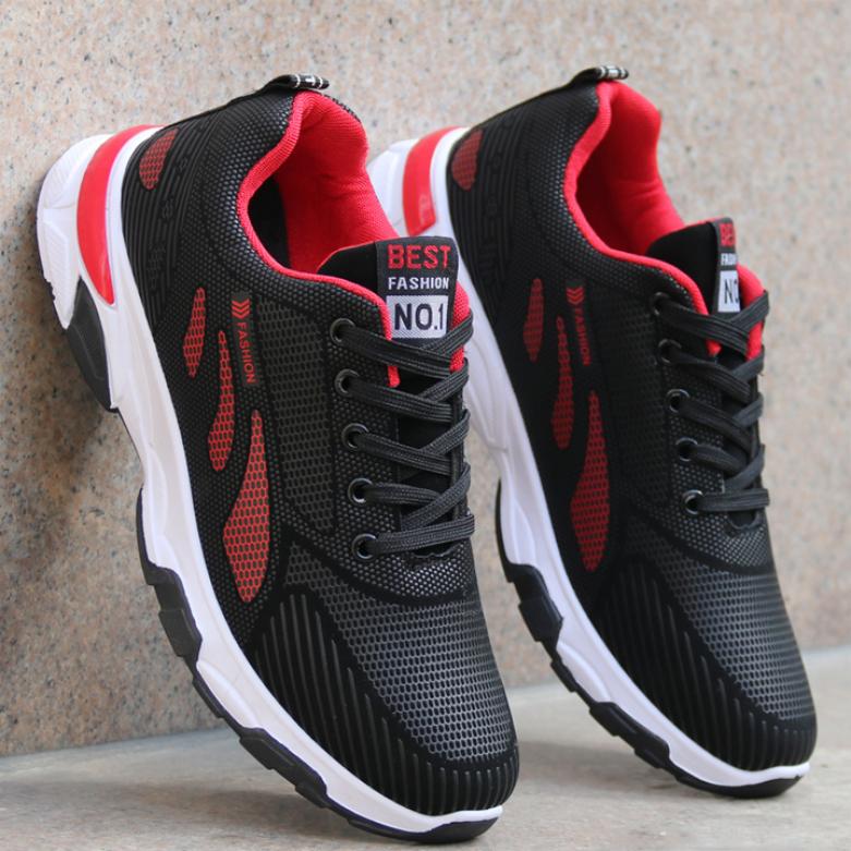 Giày thể thao nam,Giày nam sneaker,Giày nam,Giày thể thao nam sneaker Phong Cách Hàn Quốc MUHATIKI - GN106 giá rẻ