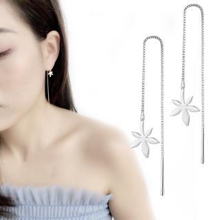 Khuyên tai dây nữ bông hoa thumbnail
