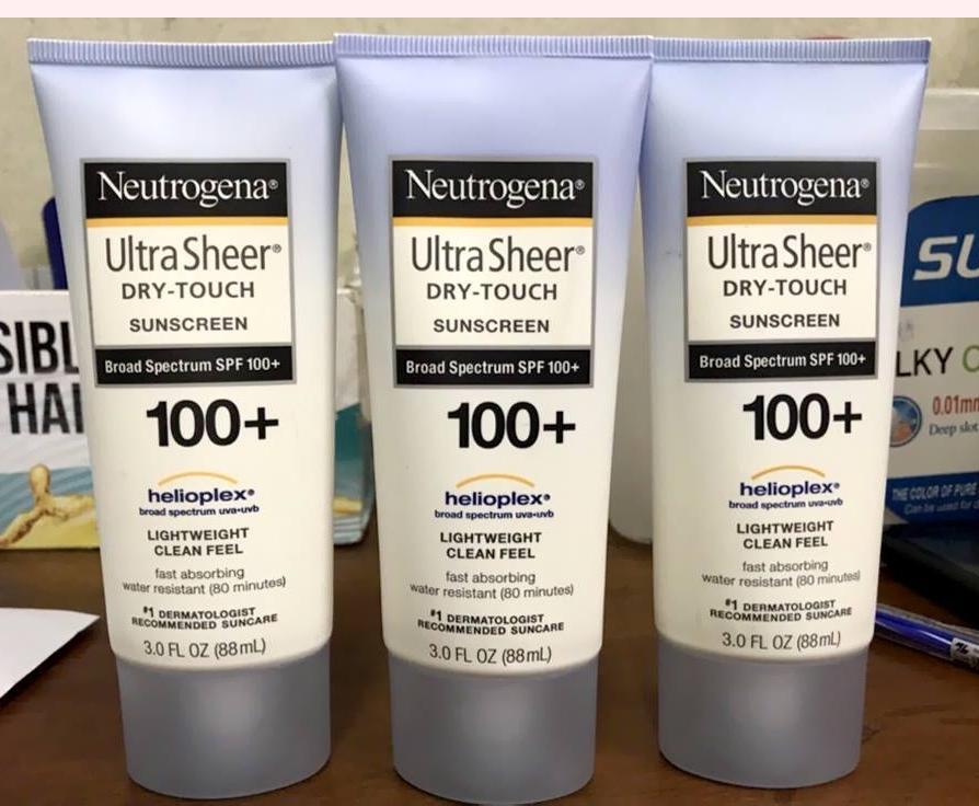 Kem chống nắng Body Neutrogena Sunscreen SPF 100+ chính hãng