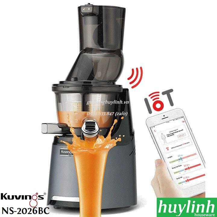 Máy ép chậm thông minh Kuvings NS-2026BC - Smart Juice
